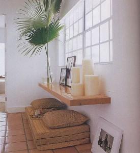 Пространство для медитации в современном доме