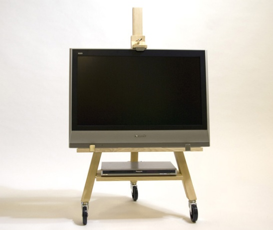 Оригинальная подставка под телевизор