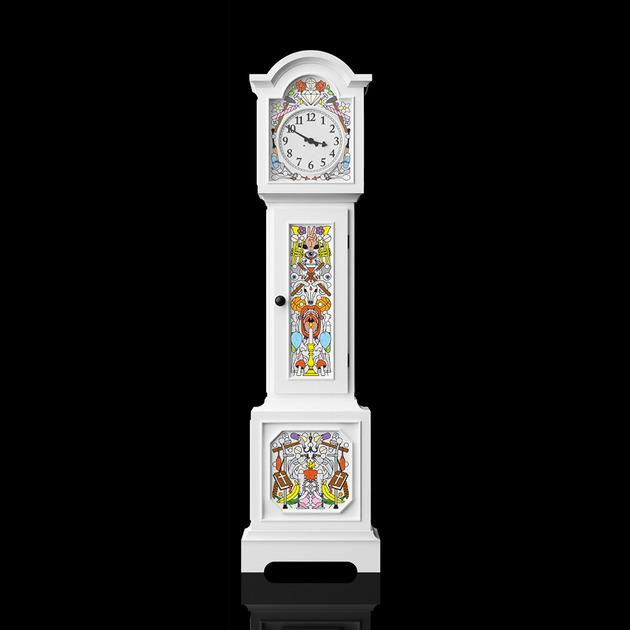 Высокие напольные часы