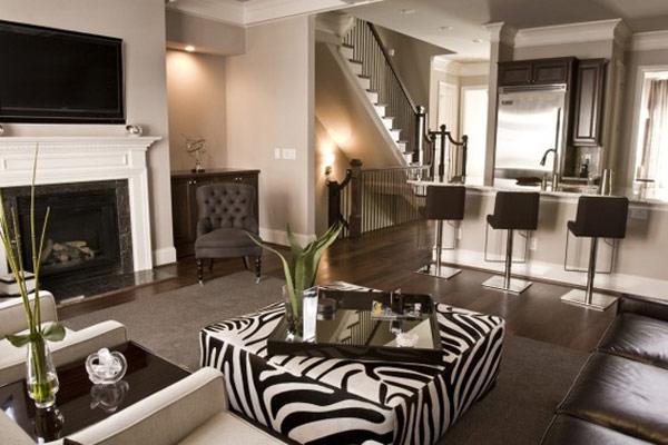 Африканские мотивы в дизайне комнаты