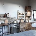 Самодельная кухня с помойки