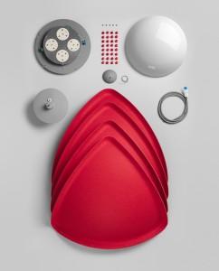 Сборный светильник для кухни