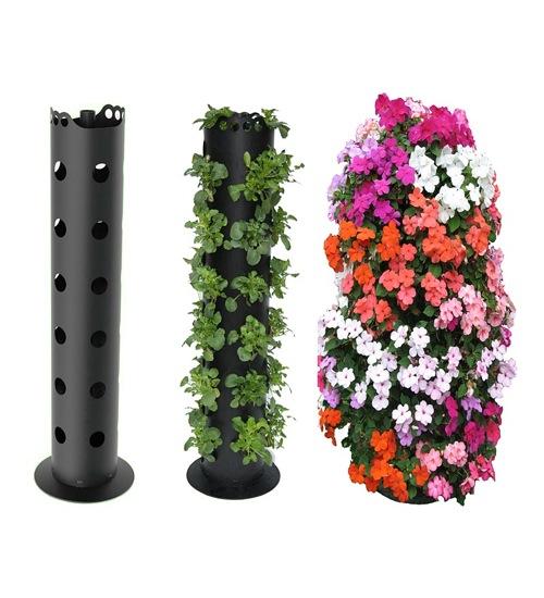 Простая система для выращивания цветов