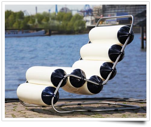 Кресло с надувными подушками