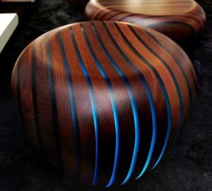 мебель подсвеченная изнутри светодиодами