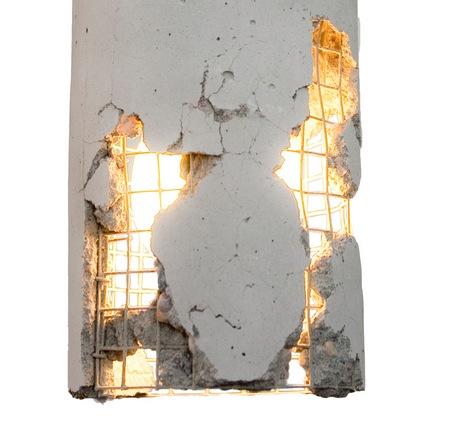 Оригинальные предметы интерьера из бетона
