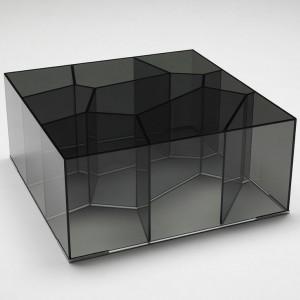 Журнальный столик из закаленного стекла