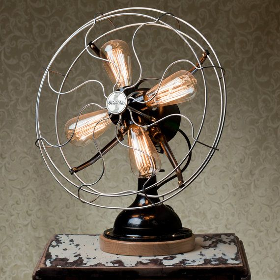 Оригинальный светильник с лампами накаливания
