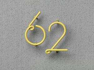 Светящиеся цифры для входной двери