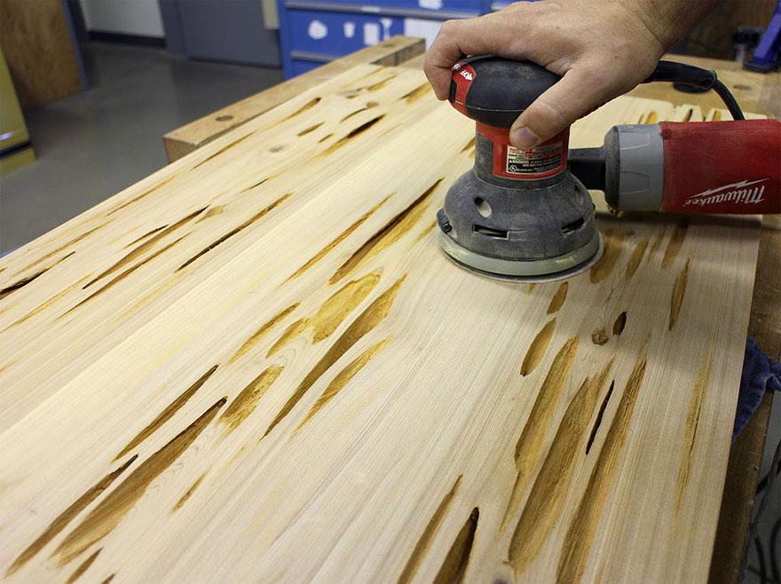 Пошаговый процесс изготовления стола своими руками