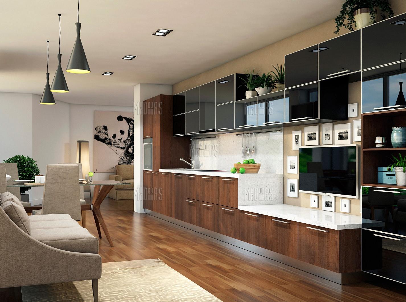 Кухня Interium Модерн.12