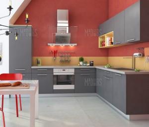 Яркая и современная кухня от компании MrDoors