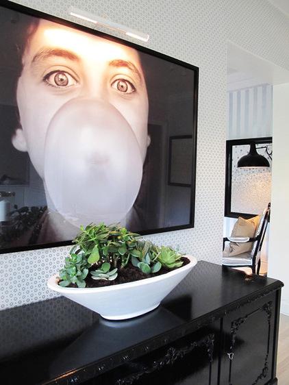 Примеры оформления интерьера с помощью фотообоев