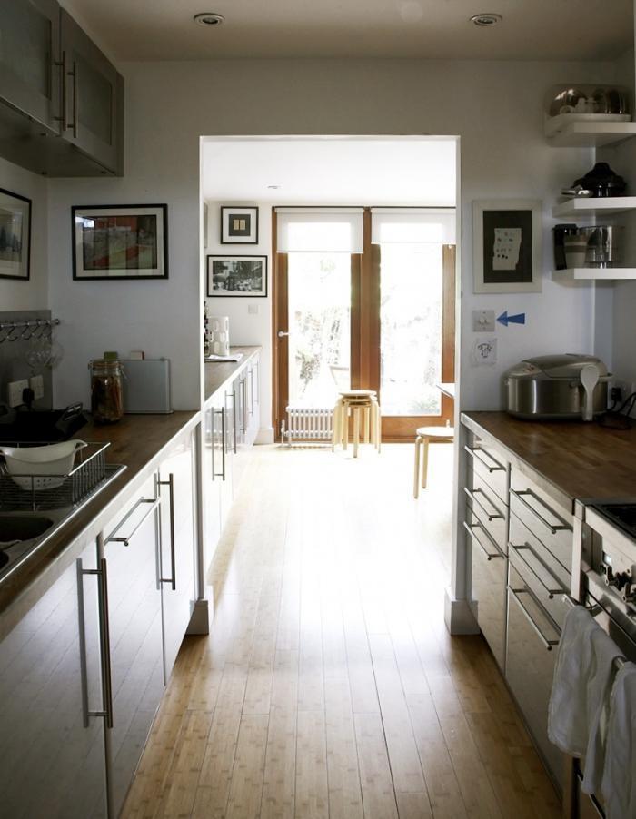 Примеры расположения современной кухни