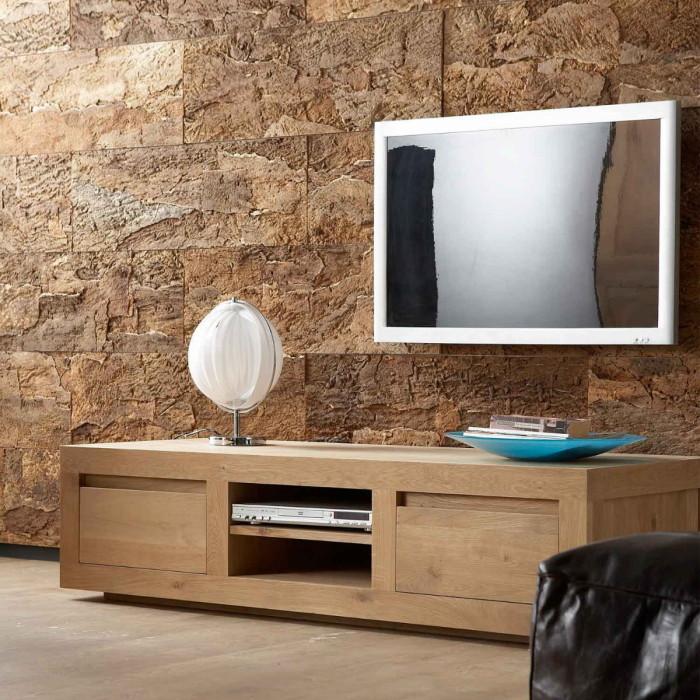 Подставка под телевизор в традиционном стиле