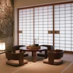 Оформление интерьера с японскими мотивами