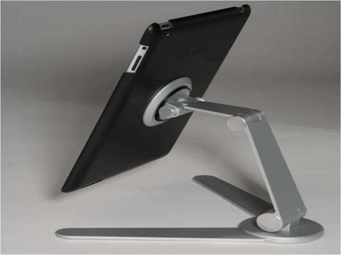 Удобная алюминиевая подставка для iPad в стиле хай-тек
