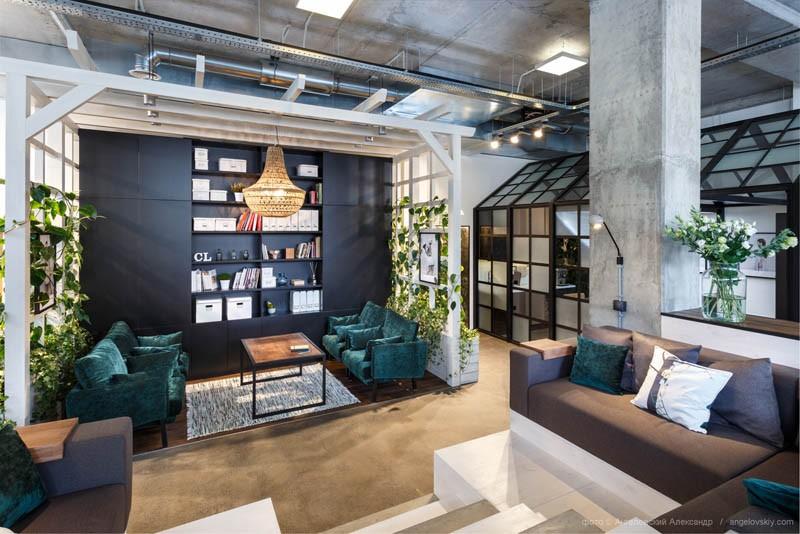 Организация зон и пространств в современном офисе