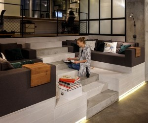 Современный офис и дизайн интерьера