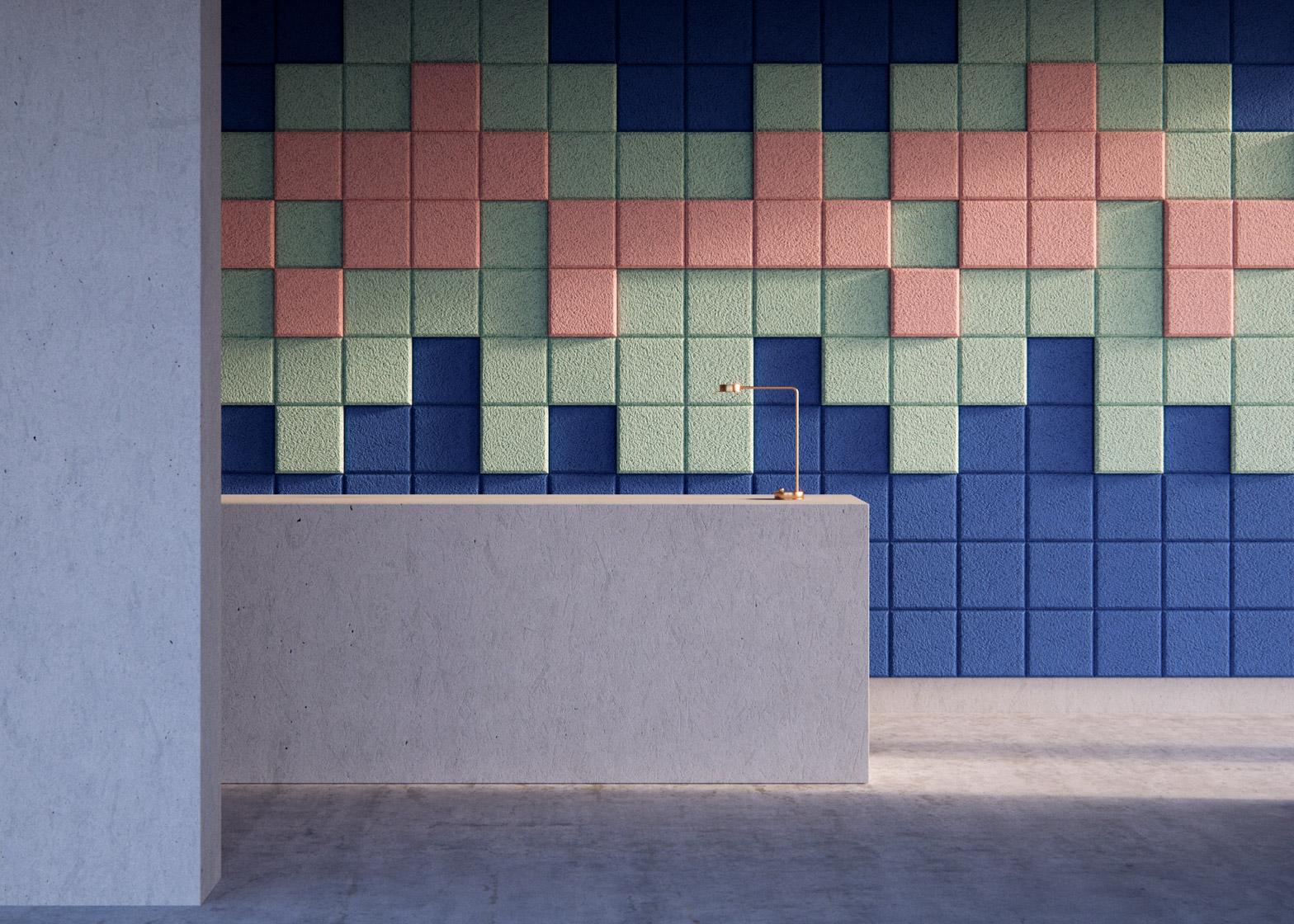 Объемная плитка в дизайне интерьера