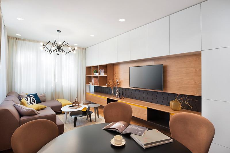Гостиная в небольшой квартире