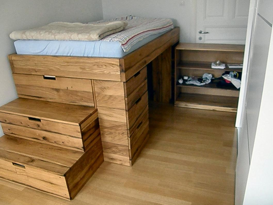Как сделать под кроватью ящики 111