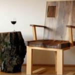 Деревянное кресло авторской работы