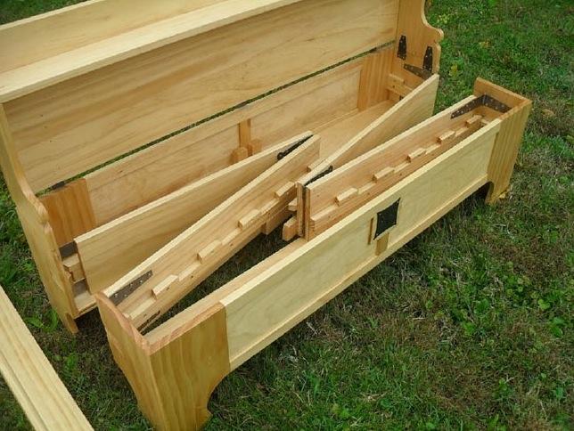 конструкция разборной кровати