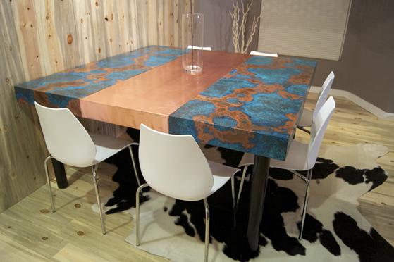 Azul Copper & Plain Copper Таблица