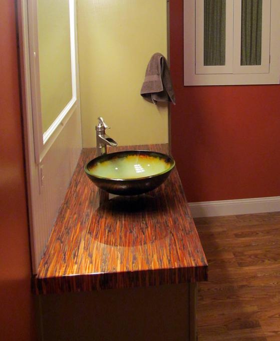 Чары Copper тщеславия ванной