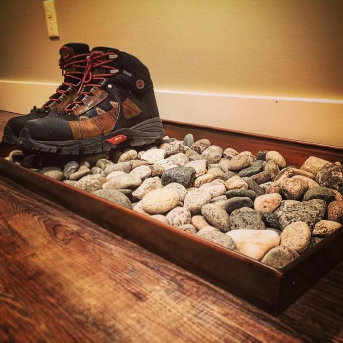 Оригинальная подставка для обуви
