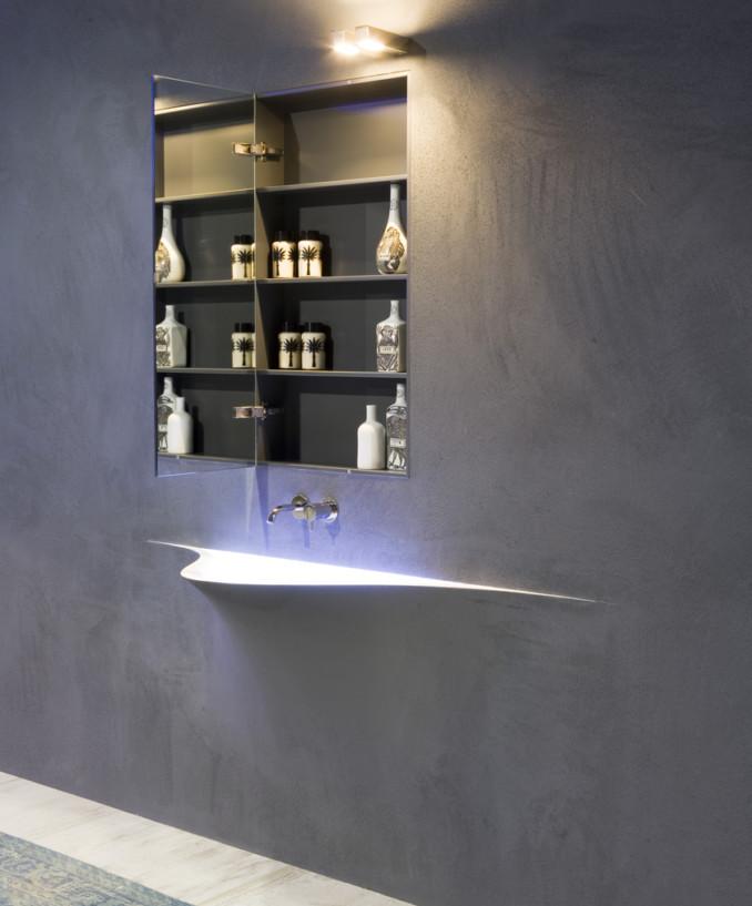 хай тек раковина для ванной