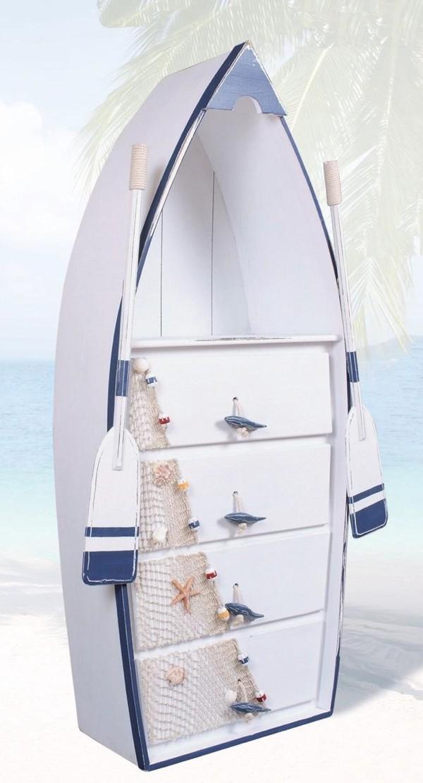 оригинальный комод в форме лодки
