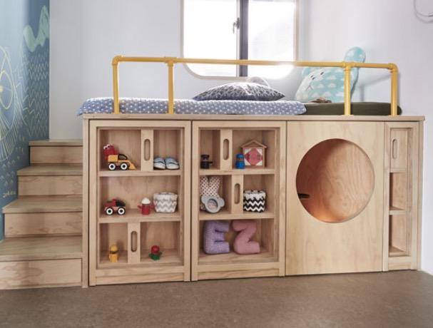 детская кровать самодельная