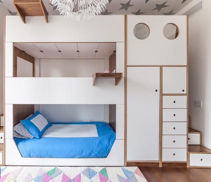 детские кровати в два яруса