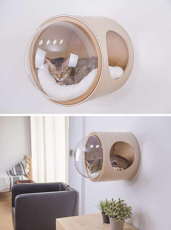 лежанка для кота в современном стиле