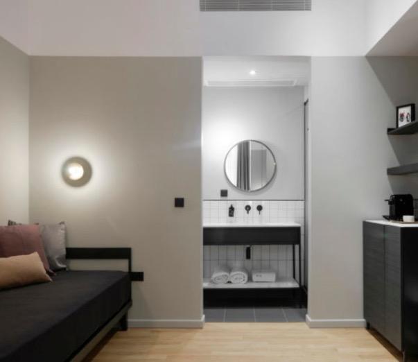 цветовое решение в дизайне небольшого отеля
