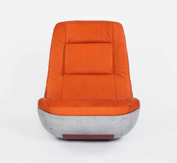 бетонное кресло качалка